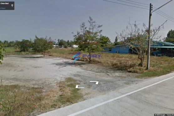 F2003003, ขายที่ดินแปลงสวยติดถนน 398 ตร.ว ต.หนองขยาด อ.พนัสนิคม ชลบุรี