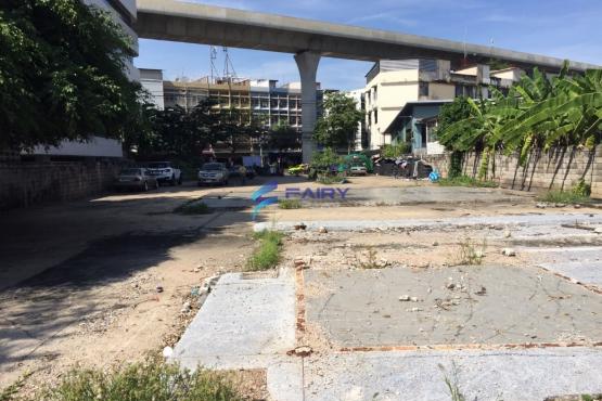 L1603009, ขายที่ดินถมแล้ว ติดถนนใหญ่ กรุงเทพ-นนทบุรี